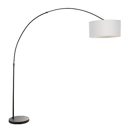 Lumisource Salon Contemporary Floor Lamp, Black/Grey