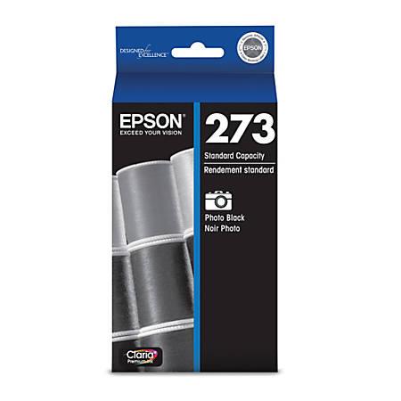 Epson® Claria, Premium 273 Photo Black Ink (T273120-S)