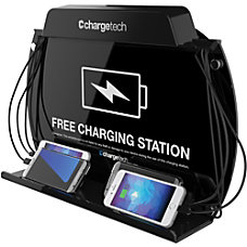 ChargeTech Wall MountTabletop Charging Station Wired