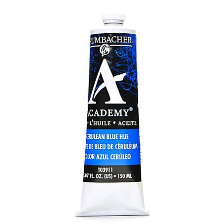 Grumbacher Academy Oil Colors, 5.07 Oz, Cerulean Blue Hue, Pack Of 2