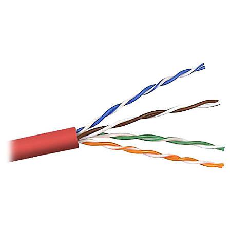 Belkin Cat. 6 UTP Bulk Cable - 1000ft - Red