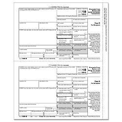 ComplyRight 1099 B InkjetLaser Tax Forms
