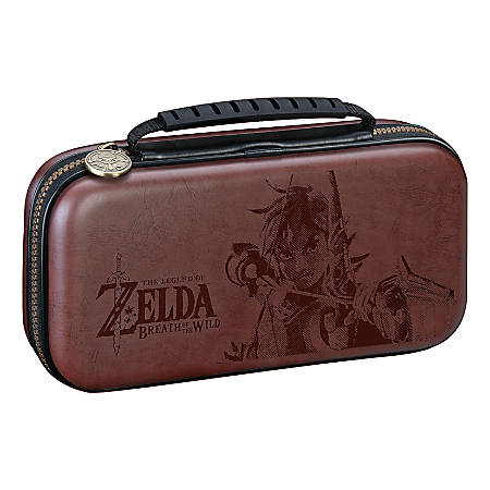 Nintendo Game Traveler The Legend Of Zelda: Breath Of The Wild Deluxe Travel Case For Nintendo Switch Lite, Brown