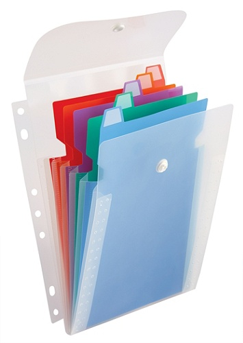 office depot brand vertical binder organizer 5 x 8 assorted colors