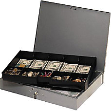 Steelmaster Cash Box with 10 Compartment