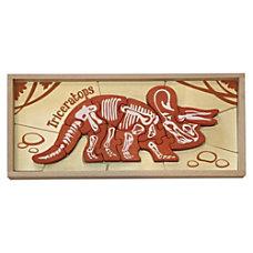BeginAgain Toys Dinosaur Bones Triceratops Puzzle