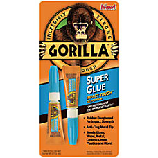 Gorilla Super Glue 011 Oz Tubes