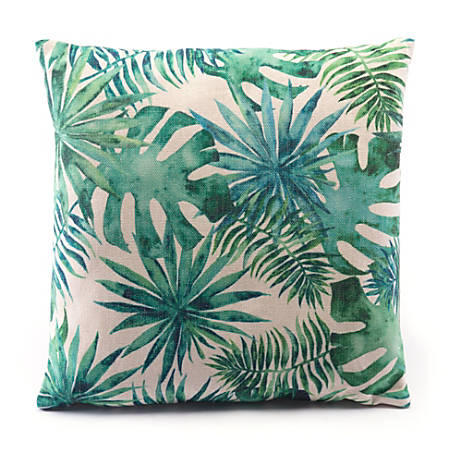 Zuo Modern Tropical Pillow, Green