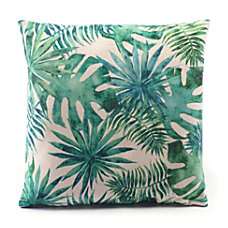 Zuo Modern Tropical Pillow Green