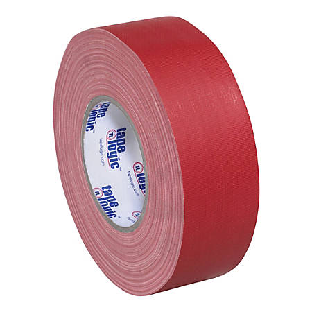 """Tape Logic Gaffers Tape, 1"""" x 60 Yd., 11 Mil, Red, Case Of 3 Rolls"""