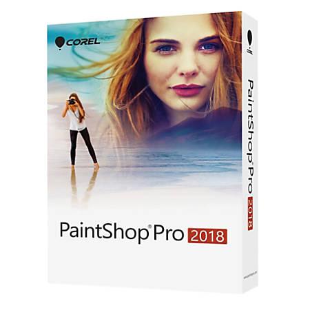Corel® Paintshop® Pro 2018, Traditional Disc
