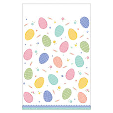 Amscan Pretty Pastels Easter Plastic Table