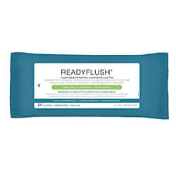 ReadyFlush Biodegradable Flushable Wipes Scented 8