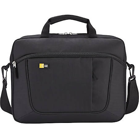 """Case Logic AUA-316 Carrying Case for 15.6"""" Notebook, iPad, Tablet PC - Black"""