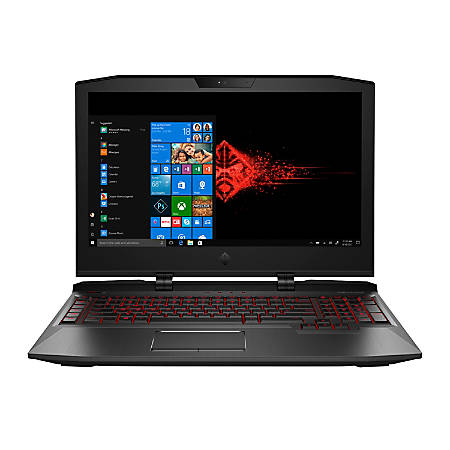 "HP OMEN X 17-ap000 Laptop, 17.3"" Screen, Intel® Core™ i7, 16 GB Memory, 1 TB Hard Drive, 256 GB Solid State Drive, Windows® 10 Home"