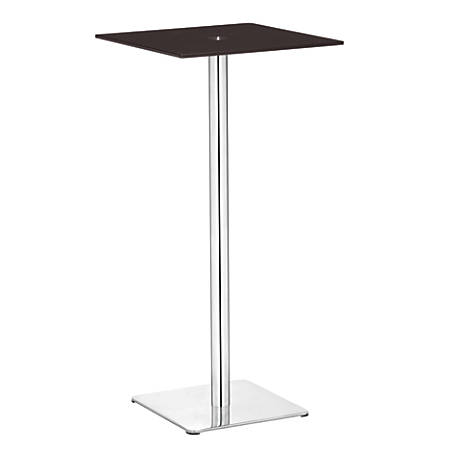 Zuo Modern Dimensional Pub Table, Brown