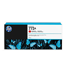 HP 773A C1Q22A Chromatic Red Ink