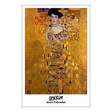 Retrospect Gustav Klimt Monthly Wall Calendar
