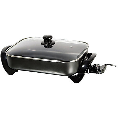 "Brentwood Electric Skillet - 16"" Width x 16"" Length"