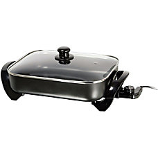 Brentwood Electric Skillet 16 Width x