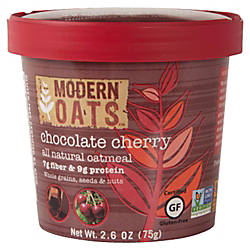 Modern Oats Oatmeal Cups Chocolate Cherry