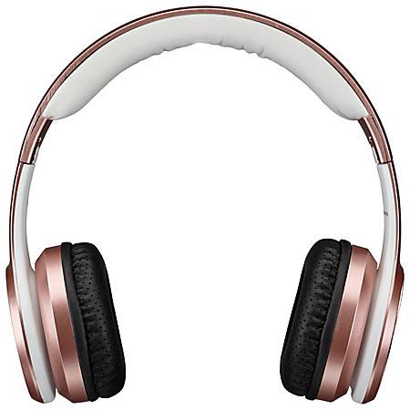 iLive Electronics IAHB239 Bluetooth® Over-The-Ear Headphones, Rose Gold