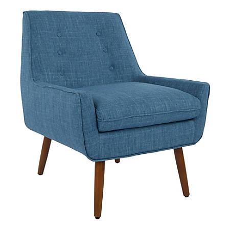Office Star™ Avenue Six Rhodes Chair, Blue