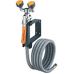 EMERGENCY EYE WASHDRENCH HOSE UNIT WALL