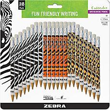 Zebra Cadoozles Mechanical Pencils 07 mm