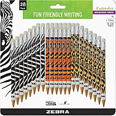 Zebra Cadoozles Mechanical Pencils 07 mm