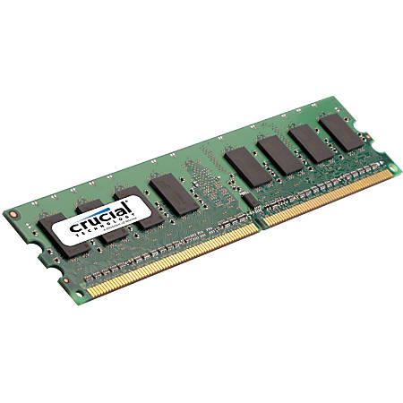 Crucial 16GB (1 x 16 GB) DDR3 SDRAM Memory Module - For Desktop PC - 16 GB (1 x 16 GB) - DDR3-1600/PC3-12800 DDR3 SDRAM - CL9 - 1.35 V - ECC - Registered - 240-pin - DIMM