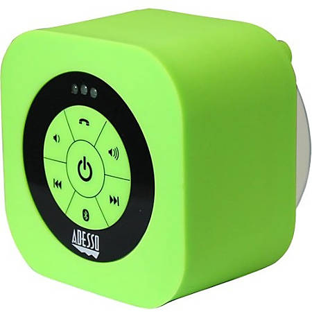 Adesso Xtream S1G Portable Bluetooth® Speaker System, Green