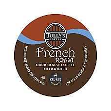 Tullys Coffee French Roast Coffee K