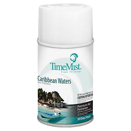 TimeMist® Metered Aerosol Fragrance, 6.6 Oz., Carribeean Waters