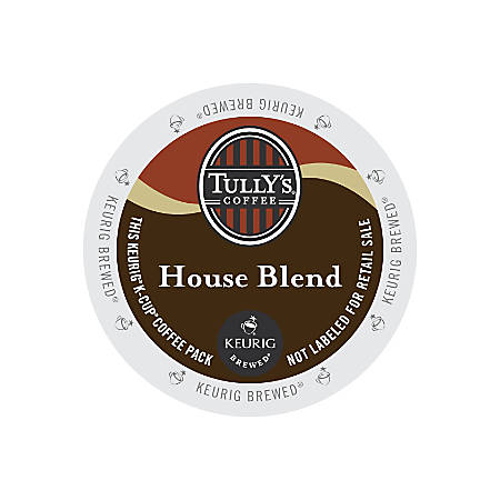 Tully's Coffee® Signature House Blend Coffee K-Cups®, Box Of 24