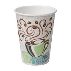 Dixie PerfecTouch Insulated Paper Hot Cup