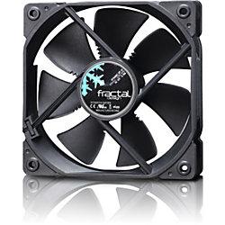 Fractal Design Dynamic GP-12 120mm Cooling Fan Black - 1 x 120 mm - 1 x 52.3 CFM - 19.4 dB(A) Noise - Hydraulic Bearing - 3-pin