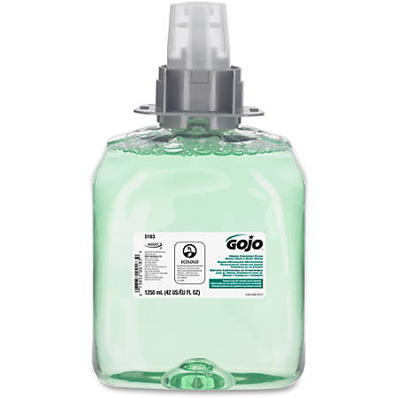 Gojo® Green Certified Hand/Hair/Body Wash Refill - Cucumber Melon Scent - 42.3 fl oz (1250 mL) - Kill Germs - Hand, Hair, Body - Aqua - 1 Each