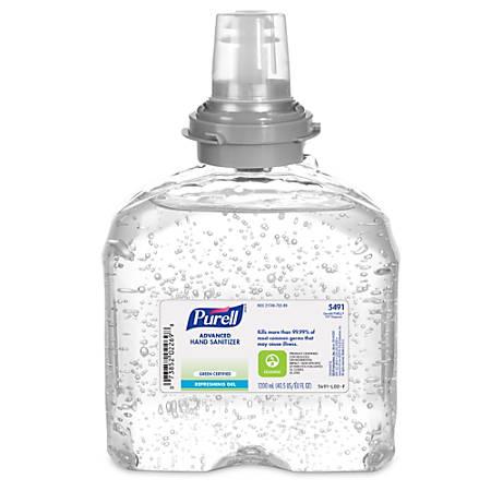 Purell® TFX™ Instant Hand Sanitizer Gel Refill, 1200ml