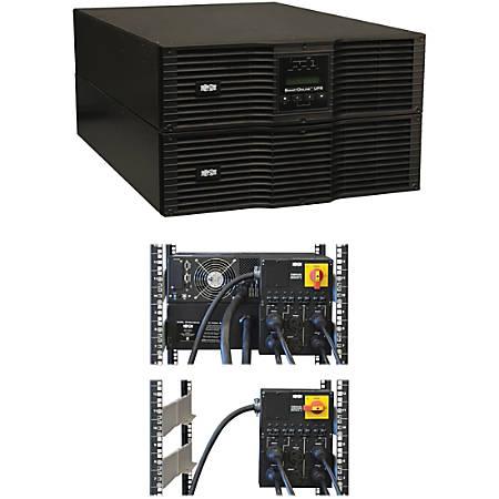 Tripp Lite UPS Smart Online 8000VA 7200W Rackmount 8kVA 200V-240V USB DB9 Manual Bypass Hot Swap 6URM - 8000VA/6400W - 6 Minute Full Load - 4 x NEMA L6-20R, 2 x NEMA L6-30R