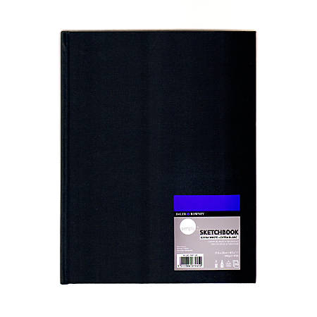"""Daler-Rowney Simply Sketchbooks, Extra White, 8 1/2"""" x 11"""", 110 Sheets Per Pad, Pack Of 2 Pads"""