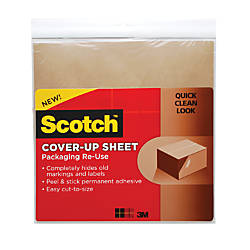 Scotch Packaging Re Use Cover Up