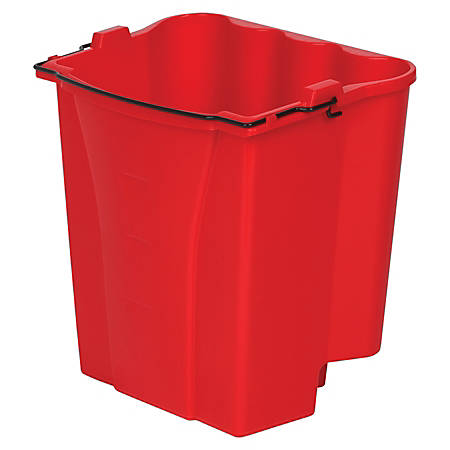 Rubbermaid® Dirty Water Bucket, 4.5 Gallons, Red