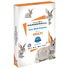 Hammermill Fore Multipurpose Paper Ledger Paper