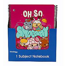Inkology Notebooks Smooshy Mushy 8 12