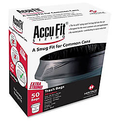Heritage Accufit Can Liners 32 Gallon