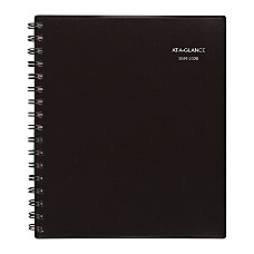 AT A GLANCE Notetaker Academic Monthly