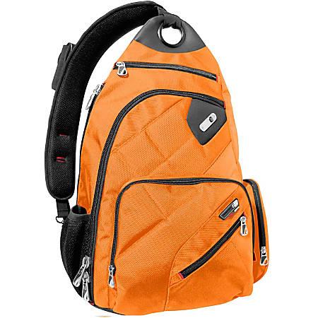 "ful Brick House Sling Backpack With 13"" Laptop Pocket, Orange"