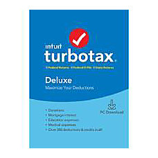 TurboTax 2019 Deluxe Federal E File