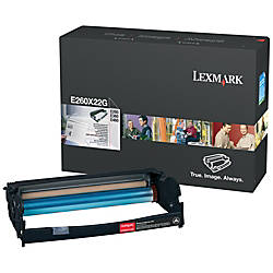Lexmark E260X22G Black Laser Photoconductor Kit